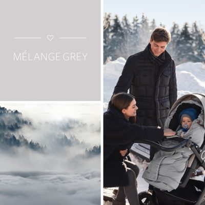 Voksi City Melange Grey